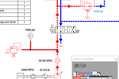 Automation Studio Educational hydraulics
